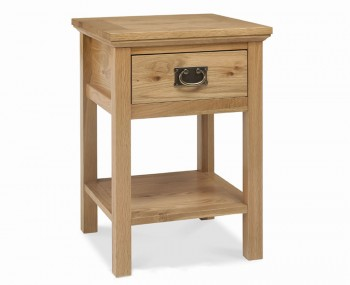 Provence Oak Lamp Table