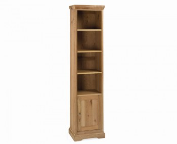 Provence Oak Narrow Bookcase