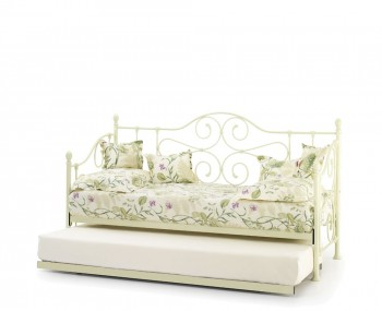 Florence 3ft Ivory Metal Day Bed