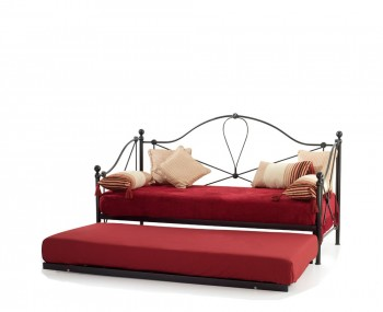 Lyon 3ft Black Metal Day Bed