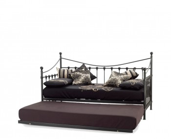 Marseille 3ft Black Metal Day Bed