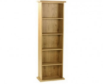 Turner Oak Large DVD Tower