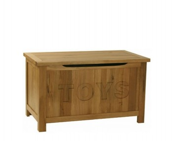 Turner Oak Toy Box