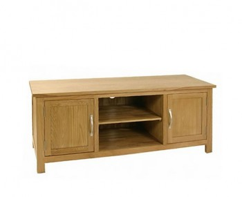 Turner Oak Large TV Unit