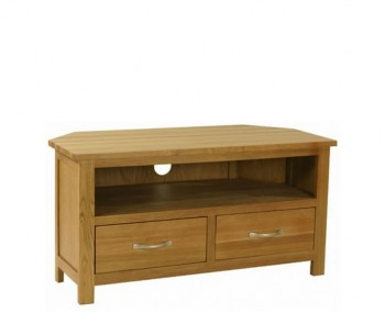 Turner Oak Corner TV Unit