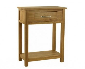 Turner Oak Small Console Table