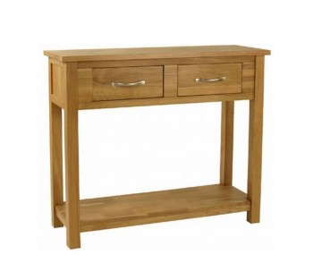 Turner Oak Large Console Table