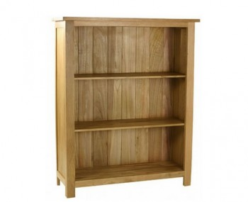 Turner Oak Low Bookcase