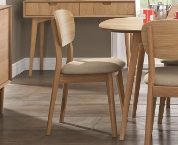 Orbit Oak Dining Chairs