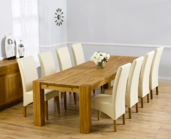 Madrid Oak Dining Table And Chairs