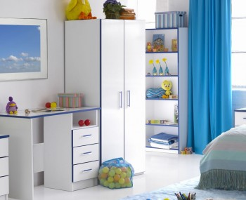 Kiddi Blue Wardrobe
