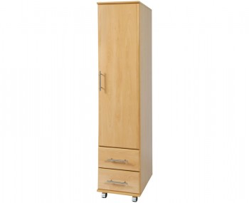 Boston 1 Door Contract Wardrobe with Drawers
