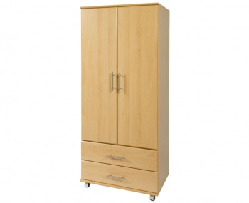 Boston 2 Door Contract Wardrobe with Drawers