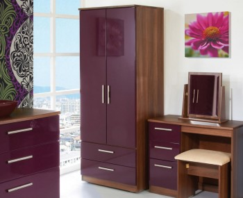Rook Mix 'n' Match 2 Door 2 Drawer Wardrobe