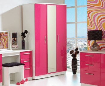 Rook Mix 'n' Match 3 Door Mirrored Wardrobe