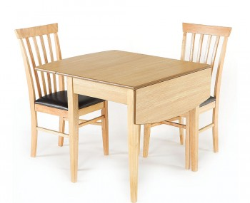 Augustine D-End Drop Leaf Table and Chairs
