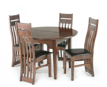 Ightham Round Extending Dining Set