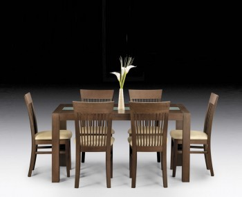 Santiago Wenge Dining Table and Chairs