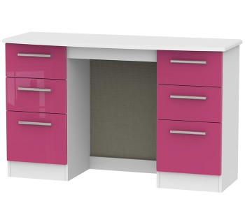 Kati Pink Girls Double Dressing Table