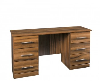 Camrose Walnut Double Dressing Table