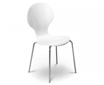 Keeler White Dining Chair
