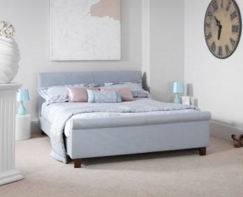 Henri Ice Upholstered Bed