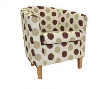 Panda Dolce Brown Tub Chair