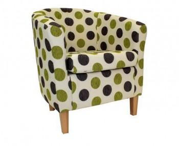 Panda Dolce Green Tub Chair