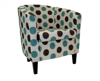 Panda Dolce Blue Tub Chair