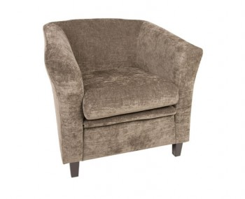 Sherlock Nutmeg Fabric Tub Chair