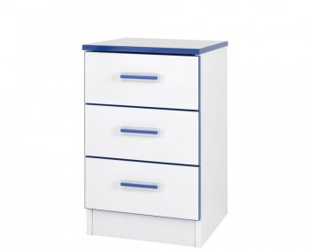 Kiddi Blue Bedside Chest