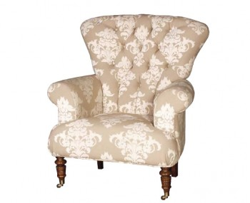 Chatsworth Cream Deep Buttoned Armchair