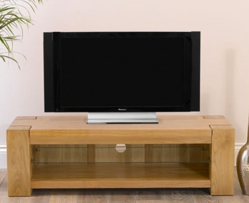 Ancaster Oak Wide TV Unit