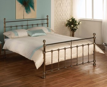 Tarvos Brass Metal Bed Frame