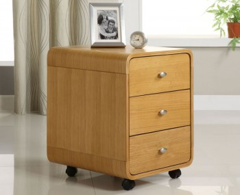 Penzance Oak 3 Drawer Chest