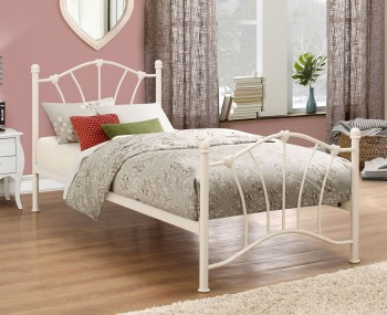Sophie Cream Metal Bedstead