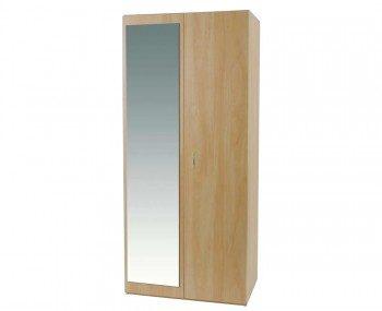 Wingate Student 2 Door Wardrobe with Mirror