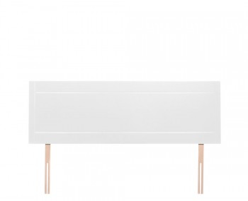 Dari White High Gloss Headboard