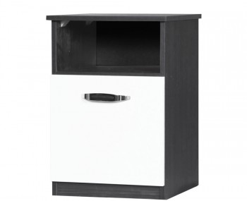 Tempo High Gloss Bedside Cabinet