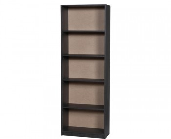 Tempo Black Wooden Bookcase