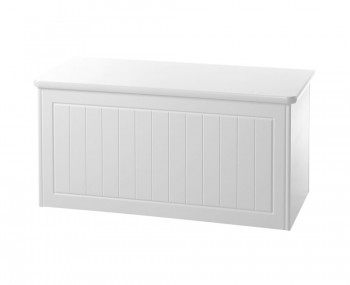 Warwick White Blanket Box