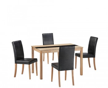 Brisbane Ash Small Dining Table and Chairs