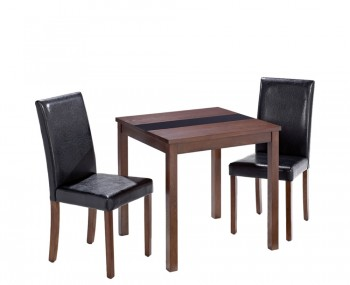 Brisbane Walnut Breakfast Table and Chairs