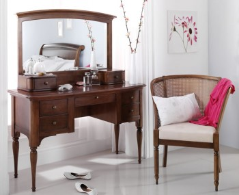 Chambery Cherry Wooden Dressing Table