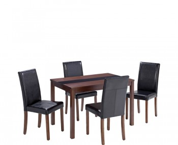 Brisbane Walnut Small Dining Table and Chairs