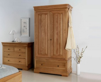Nancy Oak 2 Door Wardrobe