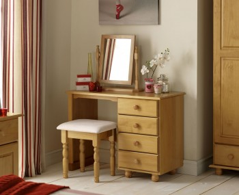 Pickwick Childrens Pine Single Dressing Table