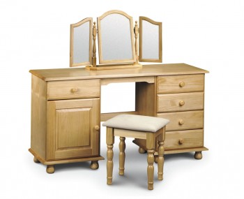 Pickwick Childrens Pine Double Dressing Table