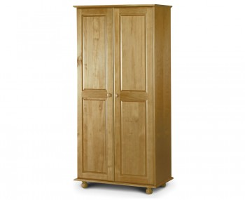 Pickwick 2 Door Pine Wardrobe