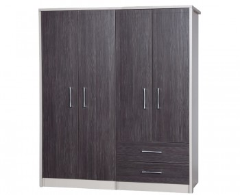 Hulsen 4 Door Regular Combi Wardrobe